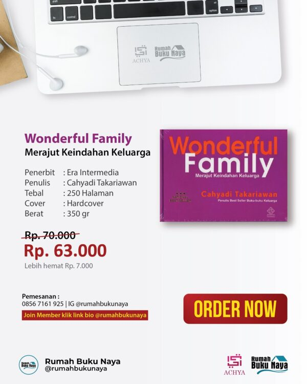 Jual Buku Wonderful Family - Rumah Buku Naya